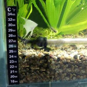 Practical Aquarium Fish Tank Thermometer Temperature Sticker Stick-On Supplies
