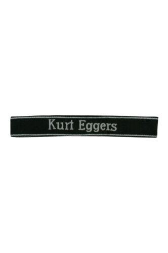 Elite Kurt Eggers EM//NCO cuff title
