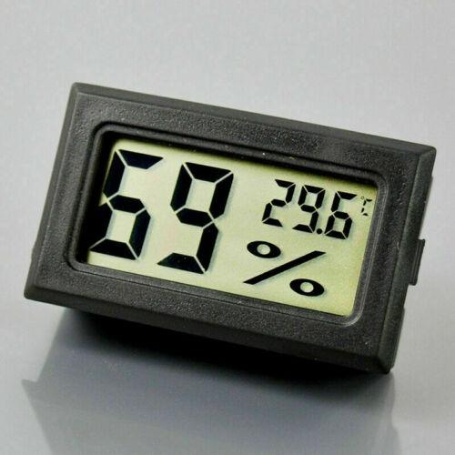 Mini Indoor LCD Temperature Humidity Meter Digital Thermometer Hygrometer