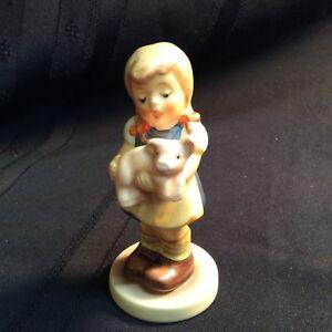 Hummel Collectible Figurine Pigtails Item A028 Vintage