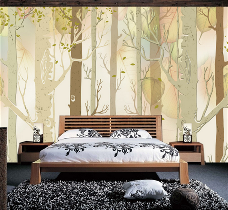 3D Grün Woods Pattern 93 Wallpaper Mural Paper Wall Print Wallpaper Murals UK