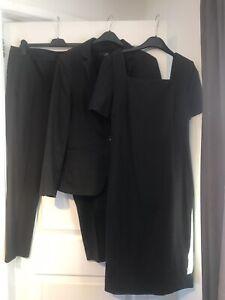 Ladies NEXT 3-Piece Jacket, Trousers, Dress Suit - Size 14 / 16 (Hardly Worn)