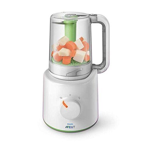 Philips Avent SCF870//20 2-in-1 Babynahrungszubereiter Dampfgarer und Mixer NEU