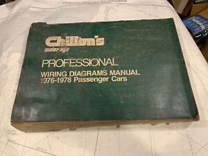 CHILTON'S IMPORT WIRING DIAGRAMS MANUAL 1976 - 78 CARS | eBayeBay