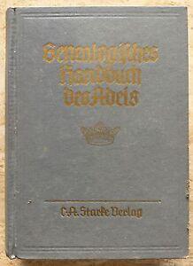 Aufstrebend Genealogisches Handbuch Des Adels Adelige HÄuser, A, Band Vi, 1962, Band 29 In Vielen Stilen