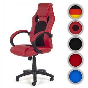 Chaise-Bureau-Fauteuil-Siege-Racing-Gamer-Sportiv-Ordinateur-Accoudoir-V8-MY-SIT