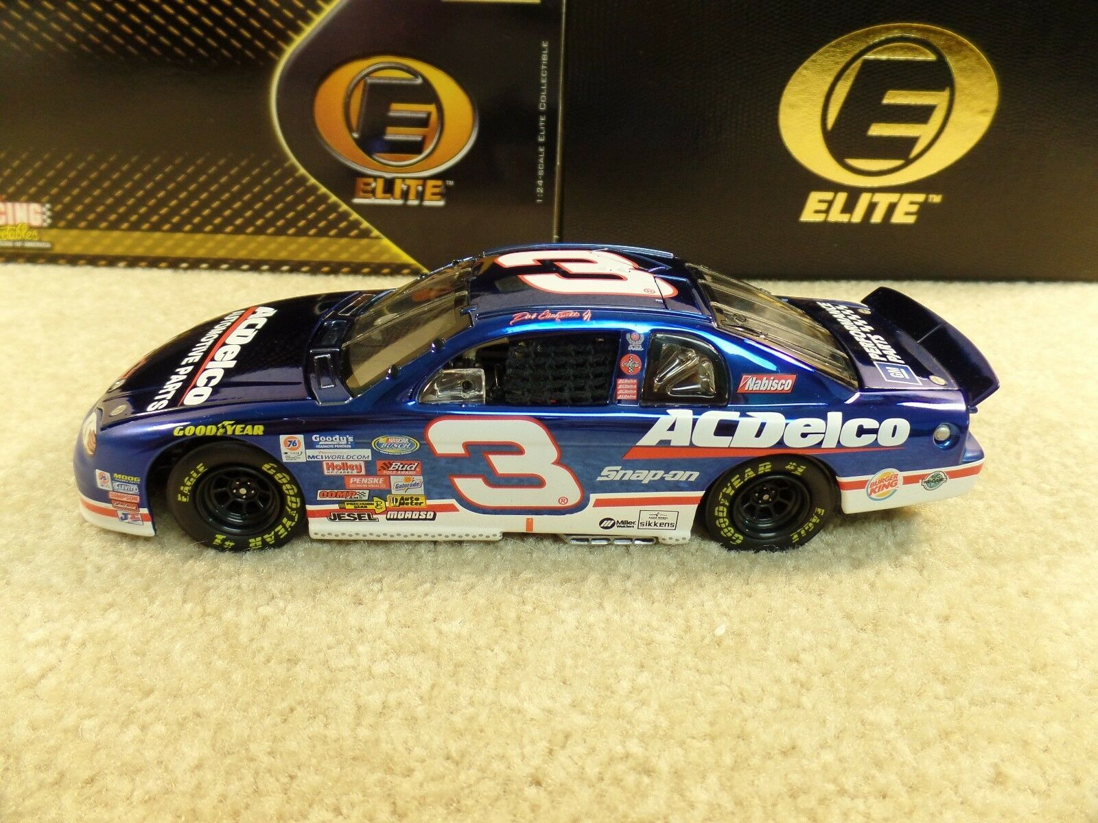 New 1999 Action Elite 1 24 NASCAR Dale Earnhardt Jr AC Delco Last Lap Century