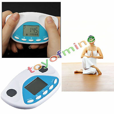 Digital LCD Body Fat Analyzer Monitor BMI Meter Weight Loss Tester Calculator