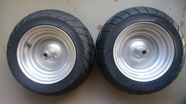 2 Dixie Chopper Oem Complete Front Wheels With 15x6 00 8 Motorcycle