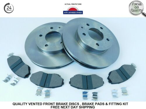 Mazda Bongo 95-06 2.0 2.5TD 2.5V6 Front Brake Discs,Pads /& Fitting Kit Next Day
