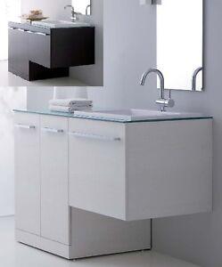 Mobile da bagno 10 colori con coprilavatrice per arredo porta lavatrice mdf ebay - Mobile porta lavatrice ...