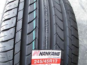 4 new 245 45r17 inch nankang ns 20 tires 245 45 17 r17. Black Bedroom Furniture Sets. Home Design Ideas