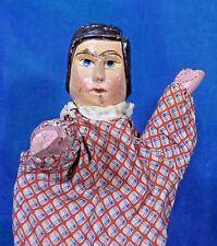 Vintage Victorian 1880s Antique German Wood Punch Judy Joey Kasperle Puppet DP18