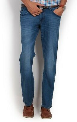 Wrangler Regular Fit Mens Blue Jeans (Flat 50% OFF)- 87S