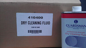 New Case Of 12 Units Of 32 Oz Guardsman Dry Cleaning Fluid
