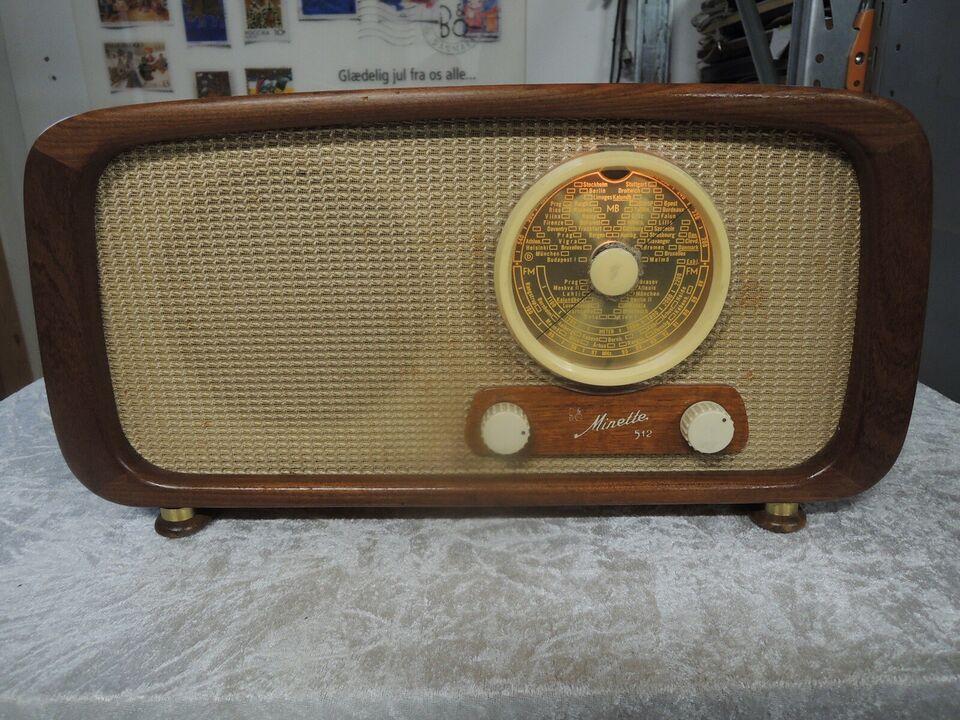 Rørradio, Bang & Olufsen, Minette 512.K