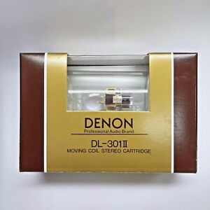 Denon-DL-301II-0-4mV-Low-Output-MC-cartridge-made-in-Japan