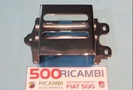 FIAT 500 F//L//R 126 SELETTORE LEVA CAMBIO 5 MARCE IN METALLO CROMATO SPORTIVO