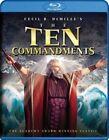 Ten Commandments 0883929301409 With Charlton Heston Blu-ray Region a