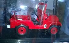 Del Prado 1971 Jeep Willys m38 a1 Pompiers  1/32 NEUF Sous Blister
