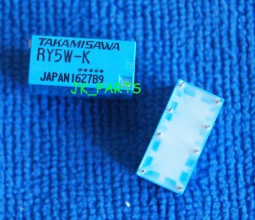 10pcs ORIGINAL 5V RY5W-K TAKAMISAWA//FUJITSU Relay 8Pins