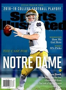 Sports Illustrated Magazine 2018 College Football Preview ...