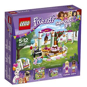 Lego® Friends 66537 Super Pack 3in1 (41110 41111 41112) Nouveau Ovp Nouveau Misb Nrfb