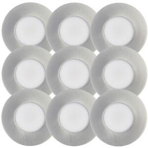 9er-Set-Light-Topps-LED-Einbaustrahler-Feuchtraum-Spot-IP65-Warmweiss-4-2W-Nickel