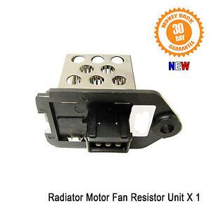 Details about Peugeot 307 Radiator Fan Motor Resistor Relay 1 1 1 4 1 6 1 8  2 0 New 1267E3