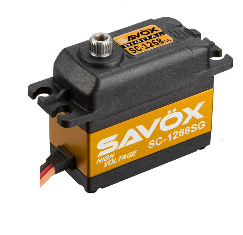 Savox Sc-1268sg  de alto torque  Digital Steel Gear Servo (high Voltage)