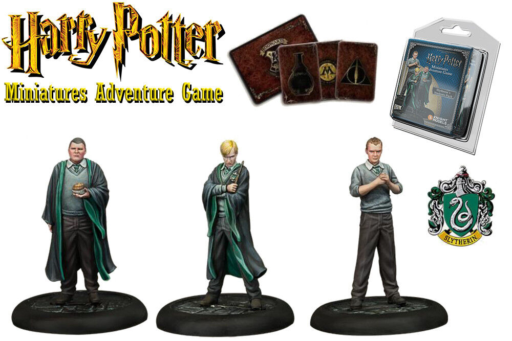 HARRY POTTER  MINIATURES ADVENTURE GAME – Slytherin Students (Slytherin)