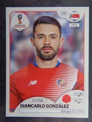 Panini WM 2018 World Cup Russia Giancarlo González Costa Rica Sticker 395