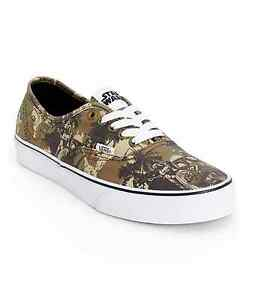 e2bc6be27f VANS x STAR WARS Authentic Mens Shoes (NEW) Boba Fett CAMO Sizes 7 ...