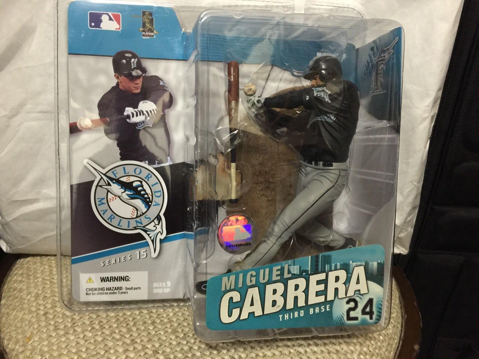 Florida Marlins Miguel Cabrera Mcfarlane MLB Series Series Series 14 b8c890