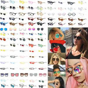 Fashion-Women-Kaleidoscope-Oversize-Square-Cat-Eye-Gradient-Summer-Sunglasses