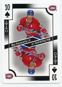 17-18-O-PEE-CHEE-OPC-PLAYING-CARD-TEN-OF-SPADES-MAX-PACIORETTY-CANADIENS-39329