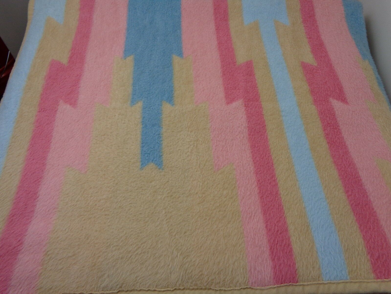 Vintage Throw Blanket Size 50x60