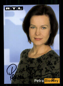 Petra Blossey RTL Autogrammkarte Original Signiert # BC 84680