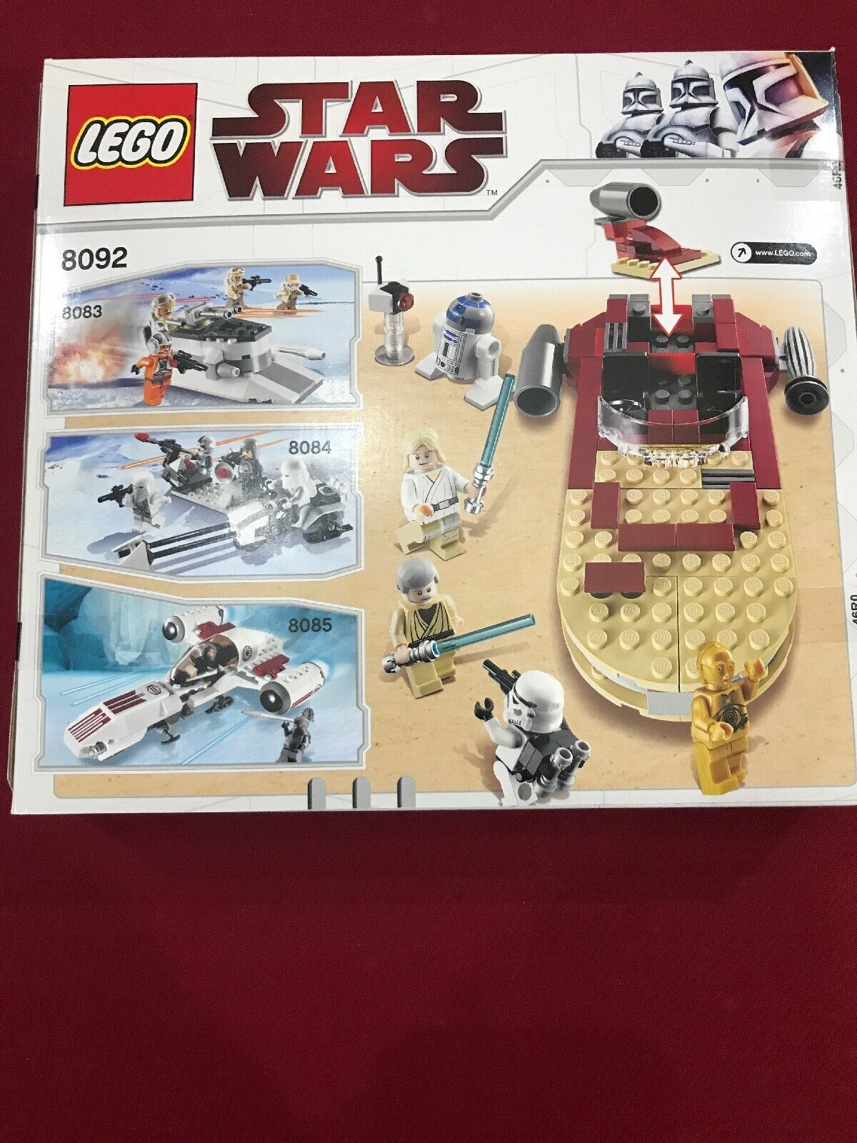 Lego Star Star Star Wars Luke's Landspeeder New Sealed 8a430e