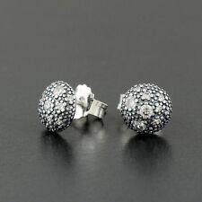 Genuine sterling silver sparkling Cosmic stars stud earrings