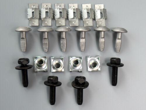 Dispositivi DI PROTEZIONE POSTERIORI ingranaggi Protezione Kit Clip per CITROEN c5 PEUGEOT 407