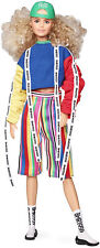 Barbie Bmr1959 Color Block Sweatshirt With Logo Tape Striped Shorts Ght91