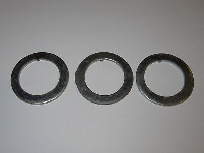 "NOS Chrome 1/"" headset key keyed washer bicycle bike part road race bmx fixie"