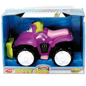 dickie happy quad spielzeug fahrzeug baby ab 1 jahr jungs m dchen freilauf neu ebay. Black Bedroom Furniture Sets. Home Design Ideas