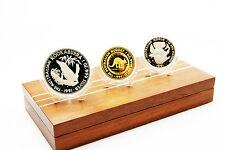 AUSTRALIEN - 3 Münzen Set Kookaburra - Känguru - Koala PP 1991 - TOP