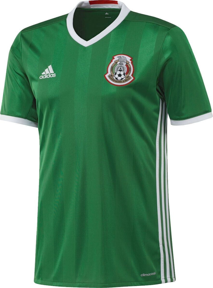 Adidas Mexico Official 2016 2017 Home Soccer Footbtutti Jersey