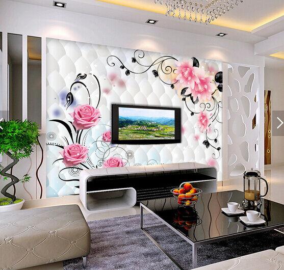3D Clear pink Petals 4363 Wall Paper Wall Print Decal Wall AJ WALLPAPER CA