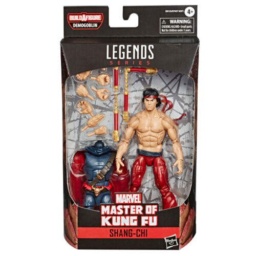Shang-Chi Master of Kung Fu  Marvel Legends Figure Demogoblin Build-a-Figure