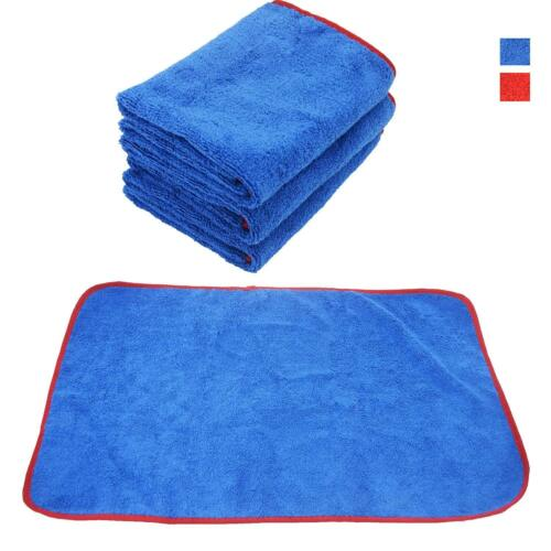 12X Car Wash Microfiber Towel Auto Cleaning Drying Cloth Hemming Super Absorbent