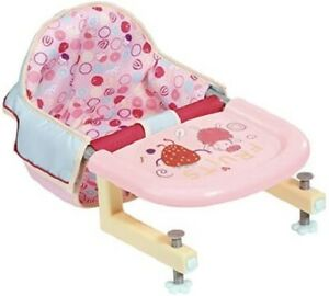 Zapf-Creation-Baby-Annabell-Lunch-Time-Feeding-Chair-Table-Attachment-Baby-Dolls